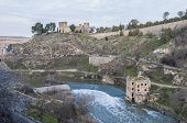 Tajo River Near Toledo, Spain