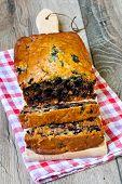 Blueberry Spelt Flour Cake