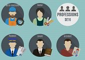 Постер, плакат: Profession people