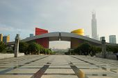 SHENZHEN - OCT 20: ShenZhen city hall on October 20, 2014 in Shenzhen, China. ShenZhen is regarded as one of the most successful Special Economic Zones.