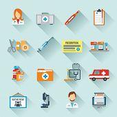 Doctor Icon Set