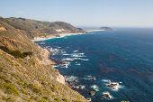 california coastline in Big Sur