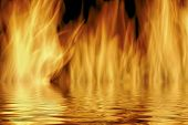 Flames And Water