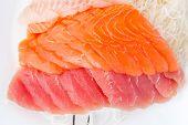 Assorted Sashimi From Fresh Market