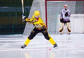 Chizhov Alexey (8) Starts Attack