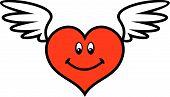 Valentine - Wings of Love (Vector)