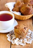 Bran And Apple Muffins