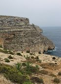 Blue Grotto view in Malta island