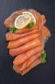 stock photo of blubber  - salmon - JPG
