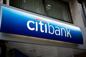 Citibank - Headquarter Signage In Spain