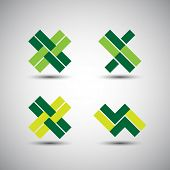 Collection of Minimalist Icon Designs - Corporate Identity Icons