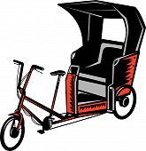 Cycle Rickshaw bike