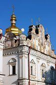 image of kiev  - Kiev Pechersk Lavra Church in Kiev Ukraine - JPG
