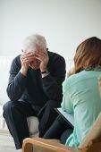 image of psychological  - Psychological help and support for depressed pensioner - JPG