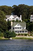 Victorian House By The Lake