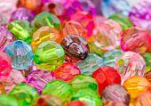 Multicolor Acrylic Beads