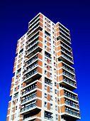 pic of public housing  - Modern public council housing apartments skyscraper tower block in London - JPG