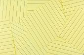 stock photo of lined-paper  - Close up yellow lined paper  - JPG