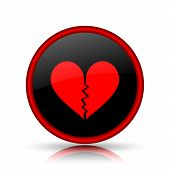 pic of heartbreaking  - Broken heart icon - JPG