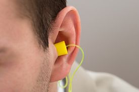 stock photo of noise pollution  - Close - JPG