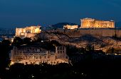 Acropolis At Dusk