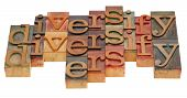 Diversify Word Abstract