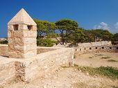 Walls Of Castle Fortezza