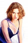 Attractive sensual woman