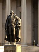 Albert Gallatin Statue