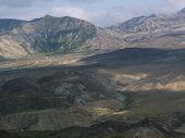 Cratera no Monte Saint Helens