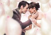 stock photo of wedding couple  - amazing photo of wedding couple - JPG