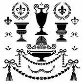 Classic style design elements