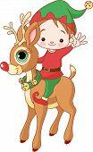 Christmas Elf And