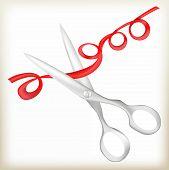 Постер, плакат: scissors