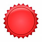 Button Badge red