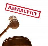 bankruptcy gavel