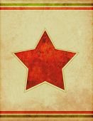 Retro Star Poster Background