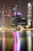 Singapore City Nightscape