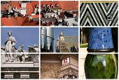 Vienna Landmarks Collage