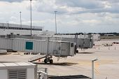 Jetways At The Airport