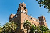 View Of The Castle Of The Three Dragons (castell Dels Tres Dragons) In The Parc De La Ciutadella poster