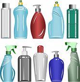 Plastic Bottles Set 6