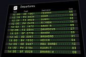 pic of tehran  - Departure board  - JPG
