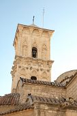 stock photo of larnaca  - Bell tower of st - JPG