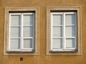 Close Up Of Two Windows