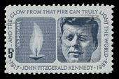 USA 1964 John F. Kennedy Memorial stamp
