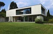 Постер, плакат: Архитектура Аттилио Panzeri современный дом на открытом воздухе