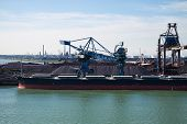 Bauxite Transshipment In Rotterdam Port