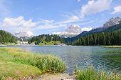 Misurinasee und Tre Cime di Lavaredo Dolomiten, Italien