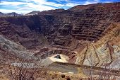 Bisbee Open Strip Mine, Arizona